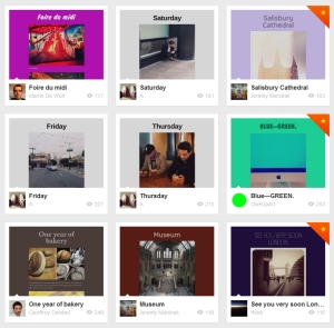 Quelques exemples de pages récemment créées avec Checkthis