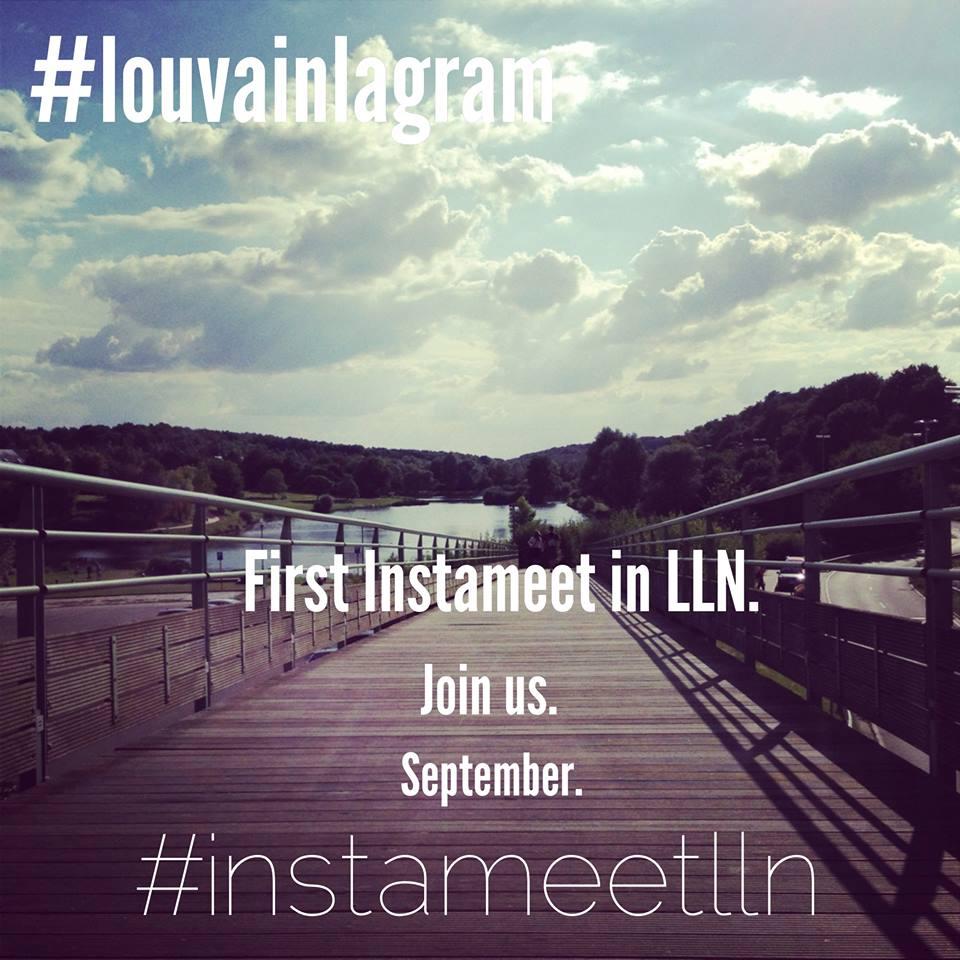 Premier InstaMeet à Louvain-la-Neuve prévu à l'automne 2013